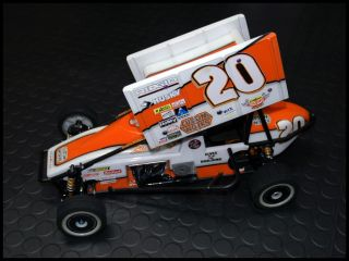 Tony Stewarts 1999 US Open Wheel Custom Works Enforcer Sprint Car New