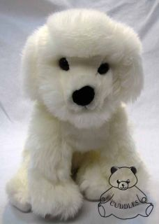 Puff Ball Bichon Pup Dog Douglas Cuddle Plush Toy Stuffed Animal Puppy