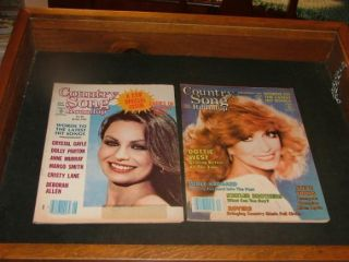 Country Song Roundup June & December 1981 Dottie West, Dolly Parton