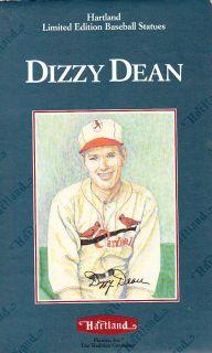 Dizzy Dean Hartland Baseball Statue St Louis Cardinals