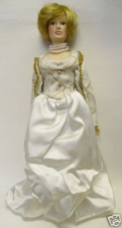 Princess Diana Porcelain Doll, 9.5 *NEW in Box*