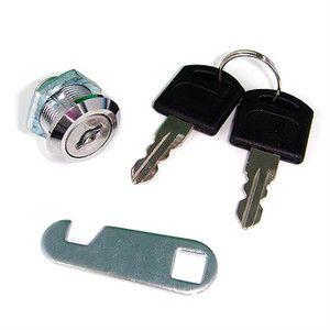 Door Cabinet Mailbox Drawer Cupboard Cam Lock 2 Keys