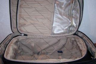 Dockers 3 Piece Luggage Black Kakhi Lining 25 Pullman 21 Pilot Case