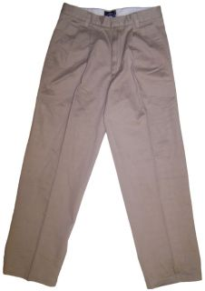 Dockers D4 Pleated Relaxed Fit True Chino Pant Khaki