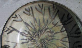 Large Rose Dodds California Berkeley Pottery Bowl 10 1 4 Diameter