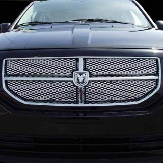 Dodge Caliber Grille Grill Billet Combo New 07 08 09 10
