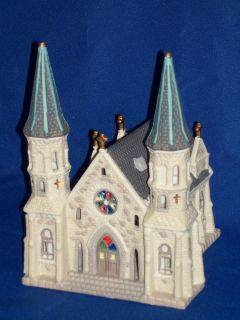 Dickens Keepsake Lighted Porcelain Christmas Village Church