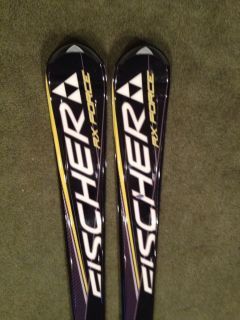 Fischer RX Force Alpine Downhill Skis 160cm New