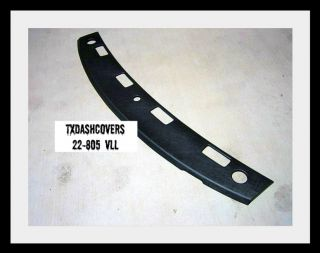 02 05 Dodge RAM 1500 2500 3500 Dash Cover Vent Section