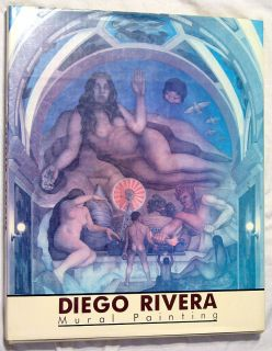 Diego Rivera Mural Paining English Version 1988 Large Book Color
