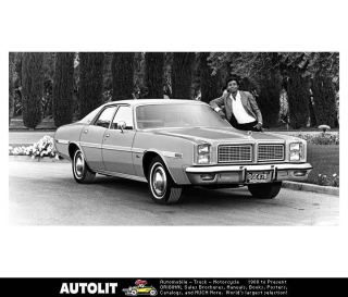 1978 Dodge Monaco Four Door Sedan Factory Photo