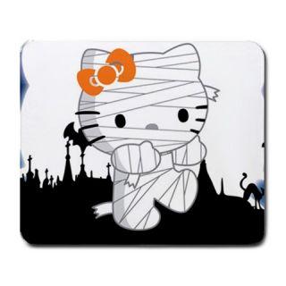 New Hello Kitty Mummy Large Mousepad Mat Cute Gothic Spooky Sanrio San