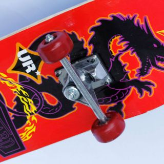 Pro Complete Skateboard 7 75 x 31 Maple Wood Skateboards Red Dragon
