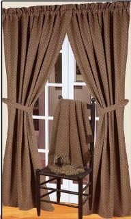 Window Treatment Drapery Panels Kingston Jacquard Curtains