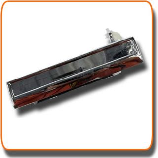 OUTSIDE Exterior Outer DOOR HANDLE Drivers Side LEFT FRONT CHROME