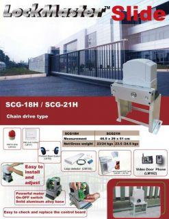 Sliding Gate Opener SCG18H Gate Operator Gate Motor Gate Motor Slide
