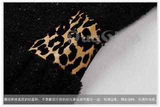 Runway Peplum Dress Puff Cap Sleeve Animal Print Shoulder Waist