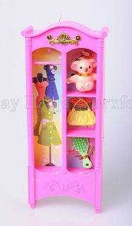 Cute Dolls Accessories Play House Furniture Doll Chest Handbag Bear