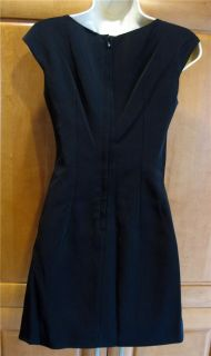 Dolce Gabbana Black Italian Acetate Nylon Stretch Sleeveless Dress 38