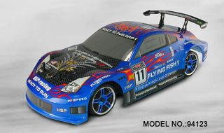 Sale HSP 1/10 Flying Fish 1 Drifting RC On Road Drifting Car 4WD Drive