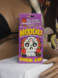 Mexicali Dice Rolling Drink Pounding Drinking Game