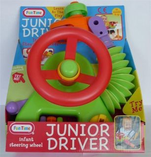 Vtech Driver Toy Baby Steering Wheel Driving Sounds Driving