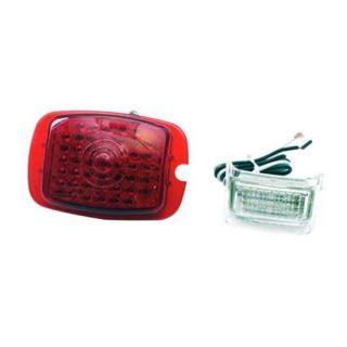 New 1937 38 Chevy LED Tail Light Conversion Left Lens