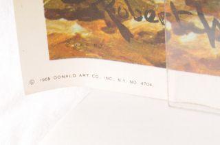 Vintage 1962 Robert Wood Autumn Bronze LG 41 Print