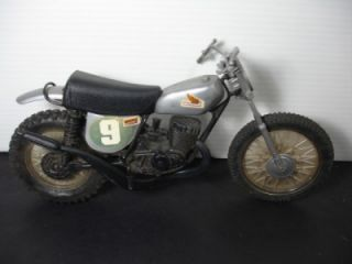 VINTAGE MATTEL HONDA DIRT BIKE MOTOCROSS MOTORCROSS MOTORCYCLE TOY