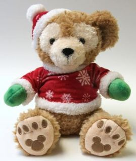 Medium Christmas Duffy Bear 12 Plush Stuffed Toy Doll