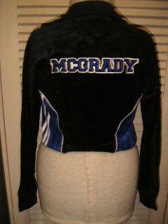 Brand New Adidas Girls Blk Tracy McGrady T Mac Jacket M