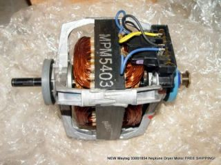 New Maytag 33001854 Neptune Dryer Motor