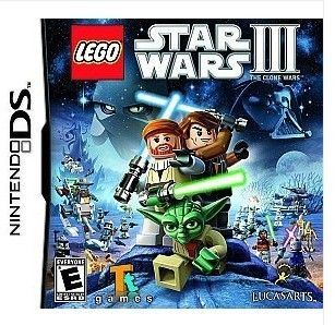LEGO Star Wars III The Clone Wars Nintendo DS 2011 fr 3DS DSi Game