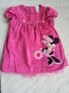 Baby Girl Minnie Mouse Disney Dress 12 18 Months