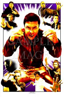 DONNIE YEN ART 2 RAGING Variant art NYAFF IP MAN IRON MONKEY
