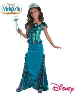 Little Mermaid Ariel Deluxe Disney Child Costume SML 4 6
