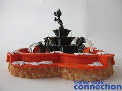 Disney Toontown Village Toontown Fountain Mickey Mouse Christmas