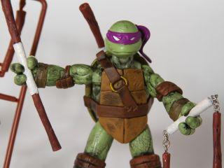 Custom Teenage Mutant Ninja Turtles 4 Figure Set TMNT 2012 classic