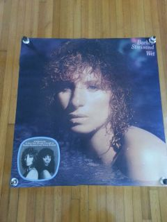 Barbra Streisand Donna Summer Wet Large Subway Poster 44X42 Excellent