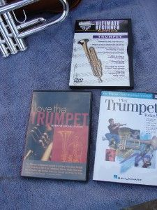 King Dizzy Gillespie Silver Flair Trumpet w Accesories