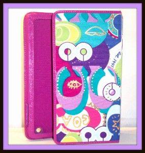 Coach 61847 Poppy Pop C Signature Stripe Print iPad 1 2 3 Case