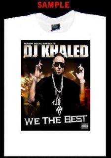 DJ Khaled Custom Photo T Shirt Tee Terror Squad 1160
