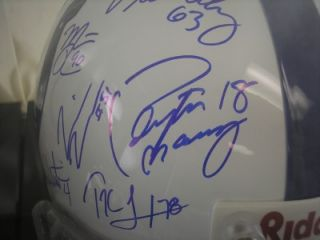 2006 GAI Certified Indianapolis Colts Signed Riddell Helmet COA
