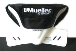 mueller by douglas black football neck collar protection pad shoulder