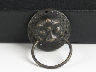 chinese brass door knockers dragons foo dogs lions
