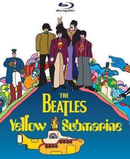 Beatles The Yellow Submarine Region B New Blu Ray