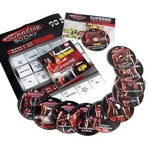 Supreme 90 Day P90X Style Muscle Confusion 10 DVDs