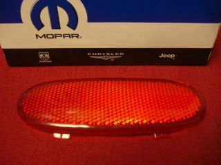 Dodge RAM Front Door Panel Reflector New Mopar