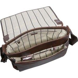 dr koffer fine leather rustic messenger bag brown
