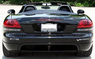 Dodge Viper SRT10 Chrome Vinyl Bumper Letter embelms IHDV3DLBL03